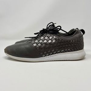 Cole Haan Grand OS Classic Gray Lace Up Sneakers